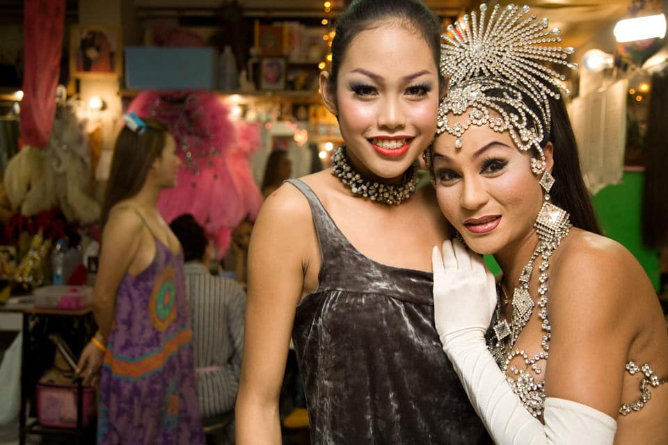 Alcazar Pattaya ladyboy showgirls