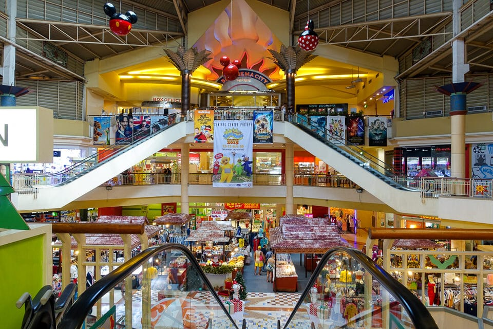 Inside Central Center Pattaya Mall