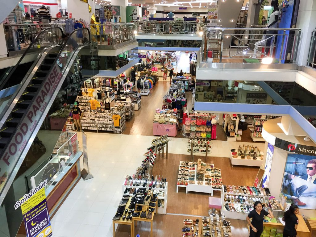 Mike Shopping Mall Pattaya Floors