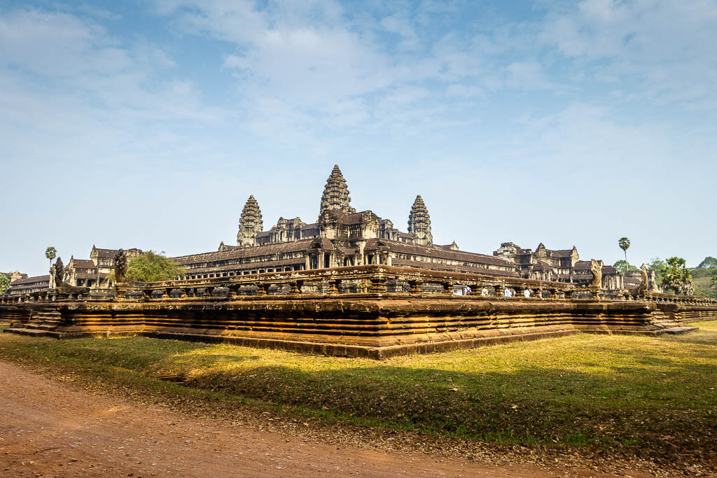 Photo of Angkor Wat Temple in Siem Reap Cambodia