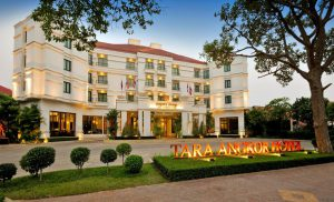 Photo of the Front of Tara Angkor Hotel Siem Reap