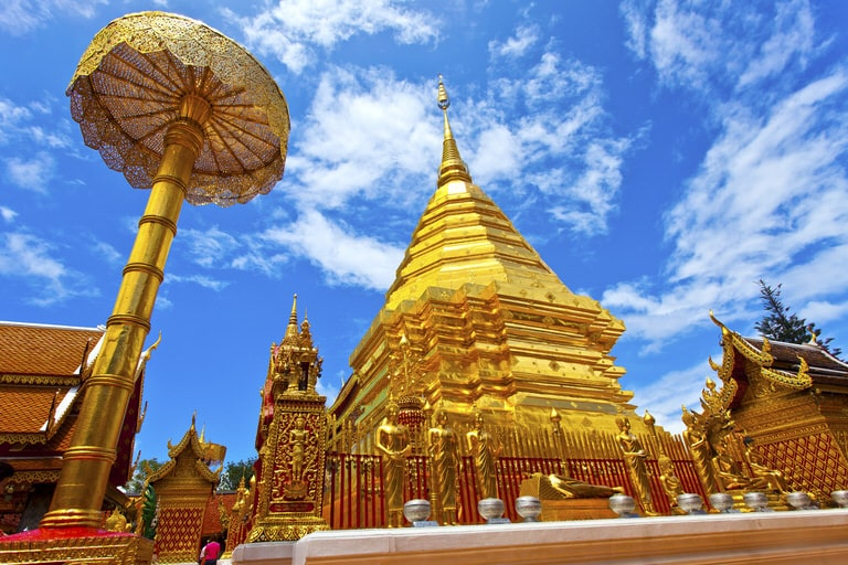 Doi Suthep Temple in Chiang Mai Thailand