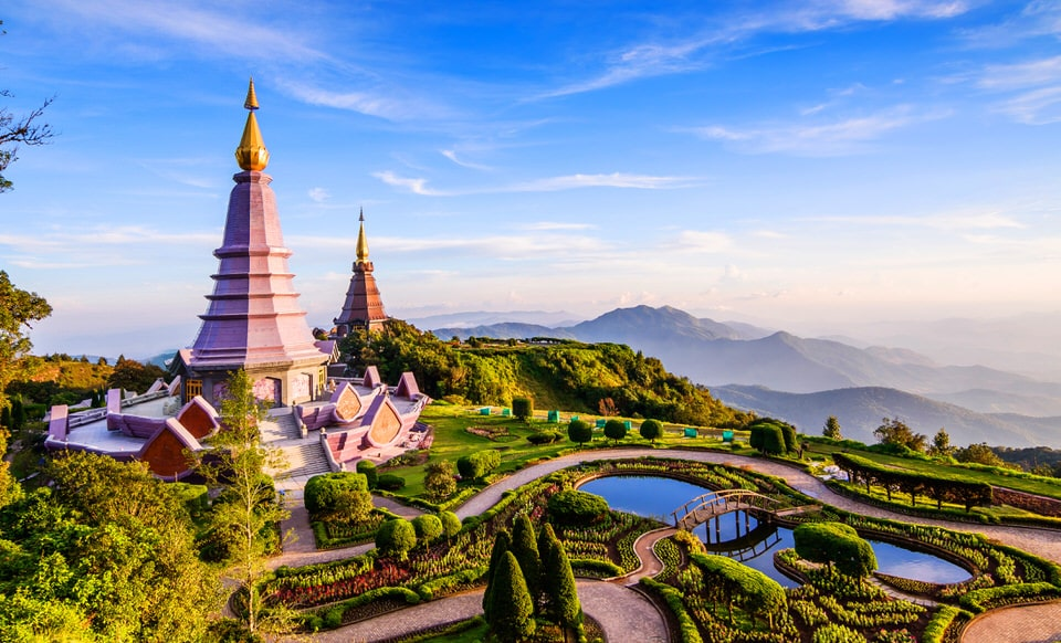 Doi Inthanon National Park Chiang Mai Thailand